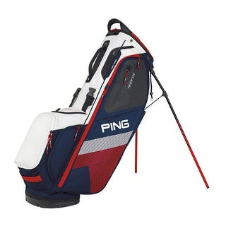 New Ping 2018 Hoofer Golf Stand Bag (Navy / White / Red) - navy / white / red