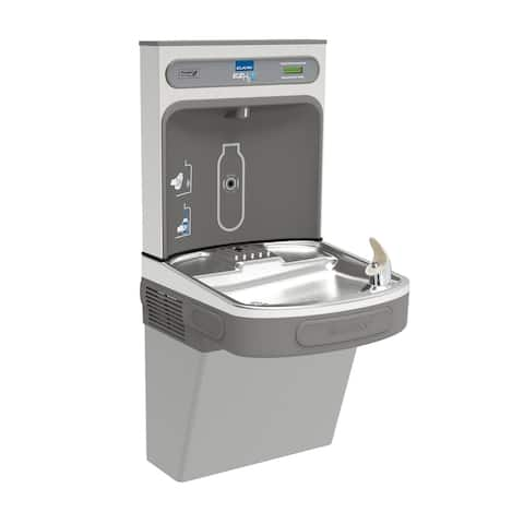 Elkay EZS8WSLK EZH2O Drinking Fountain and Bottle Filling Station with Cooler in Light Grey