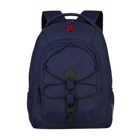 "Swiss Gear Wenger Mars 16-inch Laptop Backpack (Navy) - 13"" x 18.1"" x 9.4"""
