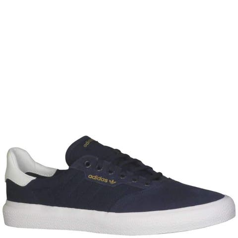 Adidas Mens 3 MC Canvas Low Top Lace Up Fashion Sneakers