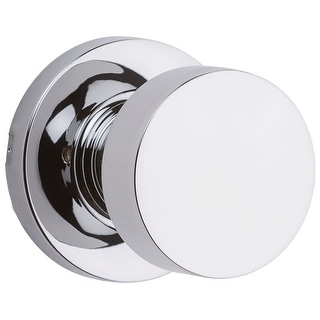 Kwikset 720PSKRDT  Pismo Passage Door Knob Set with Round Rose
