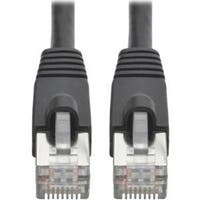Tripp Lite Cat6a Snagless Shielded Stp Patch Cable 10G-Certified, Poe, Black M/M 25Ft 25'  (N262-025-Bk)