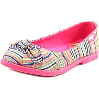 Rocket Dog Jiggy Youth Round Toe Canvas Multi Color Flats