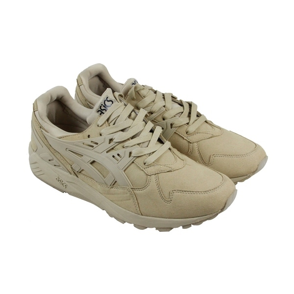 Asics Gel Kayano Trainer Mens Tan Suede Athletic Lace Up Training Shoes