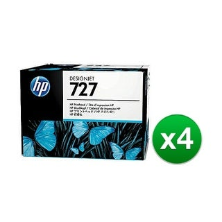 HP 727 DesignJet Printhead B3P06A (4-Pack) 727 Printhead