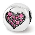 Sterling Silver Reflections Swarovski Elements Oct-Hope Bead (4mm Diameter Hole) - Thumbnail 0