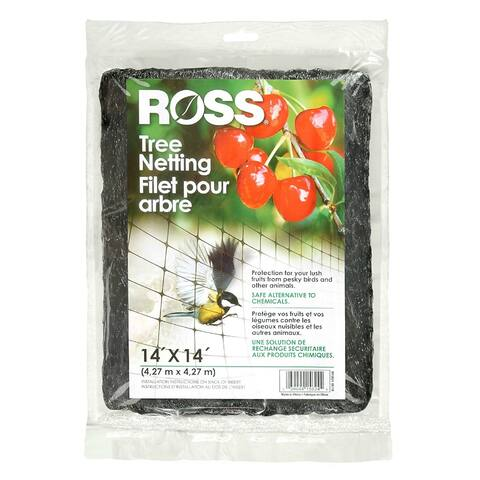 Ross 15624 Tree Netting with Diamond-Shaped Aperture, 14' x 14'