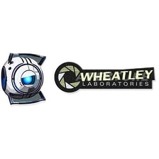 Portal 2 Wheatley Labortories Collectible Patch Set P269