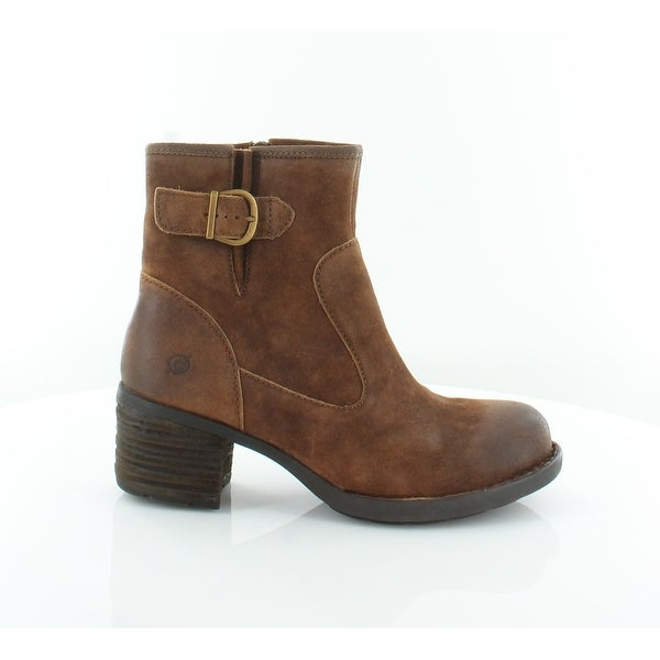 caa6979a3ec Shop Born Gunn Women s Boots Rust - Free Shipping Today - Overstock ...