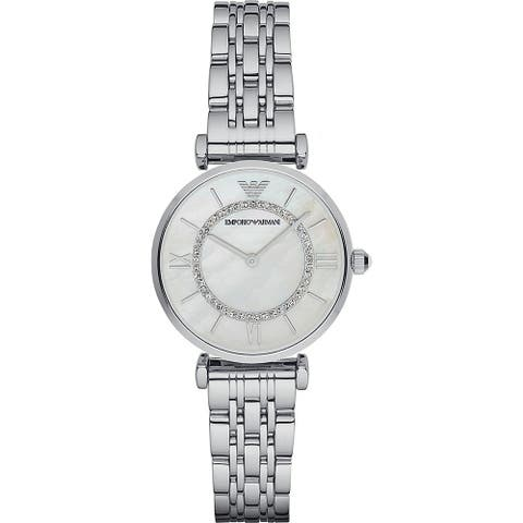 Classic Mother of Pearl Dial Ladies Watch - One Size