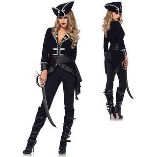 Womens Sexy Seven Seas Beauty Pirate Costume