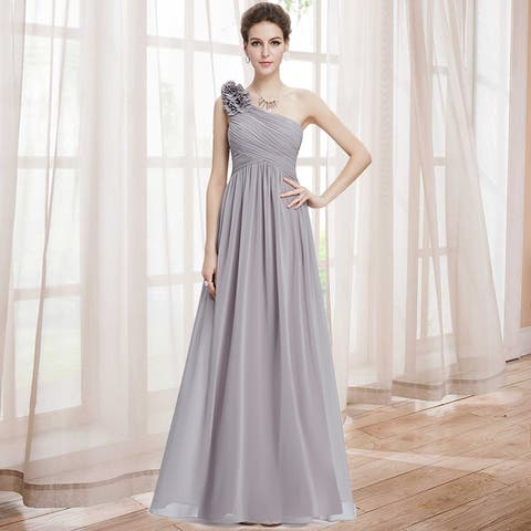 2a768e71eb Ever-Pretty Womens One Shoulder Long Party Dress 08237