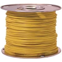 Coleman Cable 55843823 Primary Wire, 18 Gauge, 100', Yellow