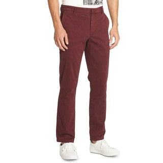 Link to DKNY Mens Pants Red Size 38x32 Chino Slim Fit Straight Leg Stretch Similar Items in Big & Tall