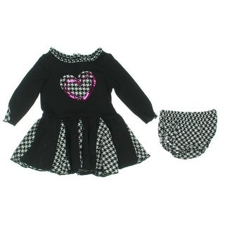 Nannette Jersey Baby Girl Casual Dress - 12 mo