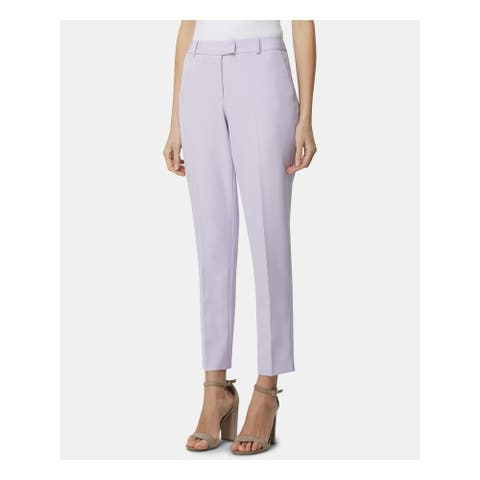 TAHARI Womens Purple Pants Size 14P