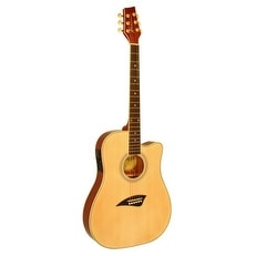 shop kona k2 series thin body acoustic electric guitar free shipping today overstock 14167477. Black Bedroom Furniture Sets. Home Design Ideas