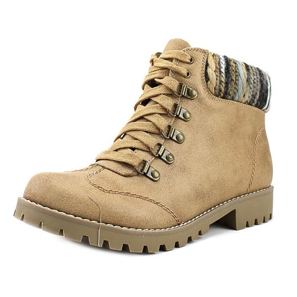 White Mountain Portsmouth Women Natural/Multi Boots