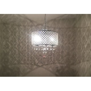 Aaryn 4 Light Drum Chandelier
