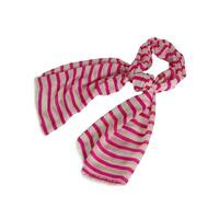 Echo Design Women's Acrylic Fiber Striped Scarf (Pink, OS) - Pink - OS