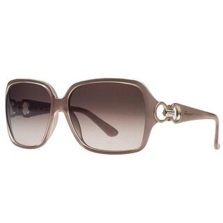 Salvatore Ferragamo SF620/S 291 Pearl Nude Square Sunglasses