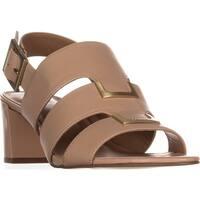 Calvin Klein Neda Slingback Sandals, Sandstorm - 7.5 us / 37.5 eu
