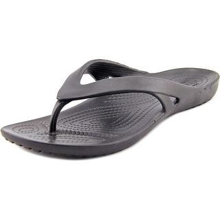 Crocs Kadee II Flip Women  Open Toe Synthetic Black Flip Flop Sandal