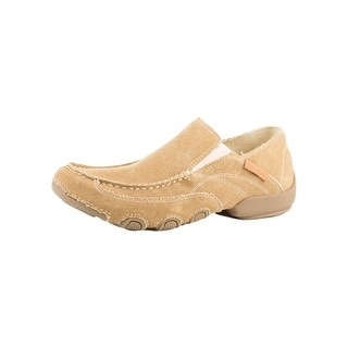 Roper Western Shoes Mens Canvas Slip On Dougie 09-020-1776-0140 TA