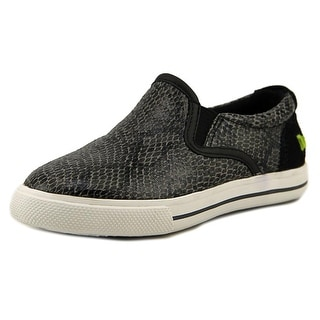 Umi Ava II Toddler Round Toe Synthetic Black Sneakers