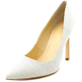 Ivanka Trump Carra4 Pointed Toe Canvas Heels