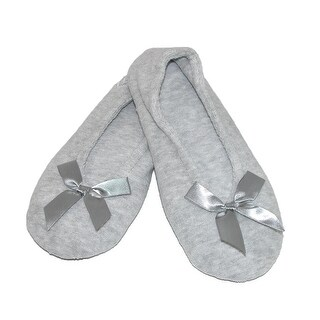 Isotoner Women's Terry Classic Ballerina Slippers