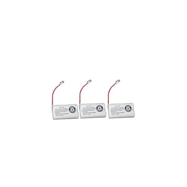 Replacement For Panasonic PQP506SVC Cordless Phone Battery (600mAh, 2.4V, Ni-MH) - 3 Pack
