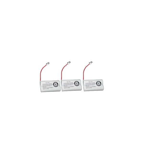 Replacement Battery For Panasonic KX-TG2000B Cordless Phones - P506 (600mAh, 2.4V, Ni-MH) - 3 Pack
