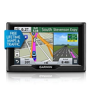 Garmin Nuvi 68LMT 6-inch Wide Touchscreen GPS w/ Free Lifetime Map Updates & Traffic Avoidance