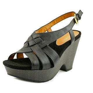 Chaps Jaida Open Toe Synthetic Wedge Sandal