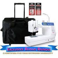 Janome Memory Craft 6500P Sewing Machine W/ Exclusive Bonus Bundle