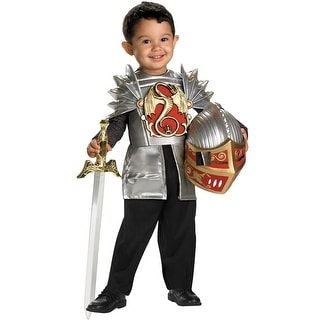 Disguise Knight of the Dragon Toddler Costume - Silver