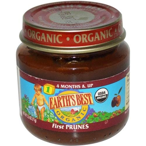 Earth's Best - Prunes 1St Organic Baby Food ( 12 - 2.5 OZ)
