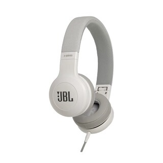 JBL E35 On-Ear Signature Headphones With Microphone and Remote Control - White