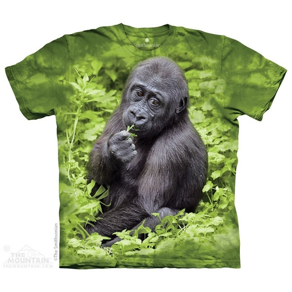 The Mountain Cotton Kojo Gorilla Novelty Adult Smithsonian T-Shirt