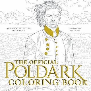 The Official Poldark Adult Coloring Book