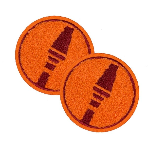 Team Fortress 2 Soldier Patches: Set of 2, Team Red - Orange