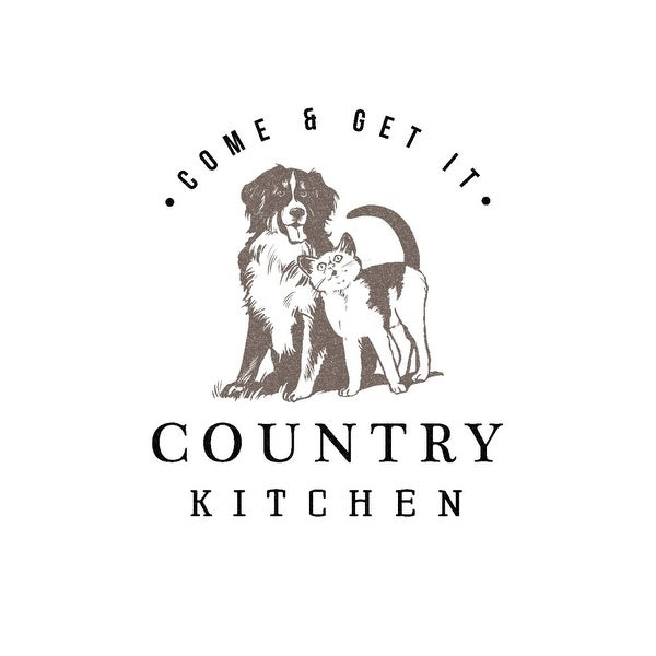 Shop Country Kitchen Dog Cat On White Lantern Press Artwork