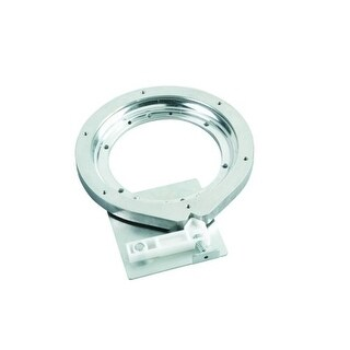 Rev-A-Shelf 4SBS-7-1 Lazy Daisy Banded Wood Series 7 Inch Steel Swivel Bearing with Stop - N/A