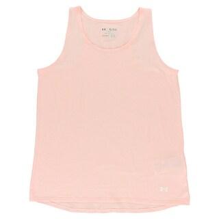 Under Armour Girls Favorite Tank Top Light Pink - light pink