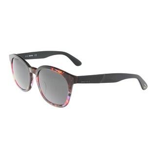 Diesel DL0190 5254a Red Round Sunglasses - 52-19-145