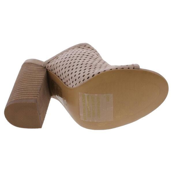 ba78f528f96 Shop Steve Madden Womens Rixy Mules Open Toe Stacked - Free Shipping ...
