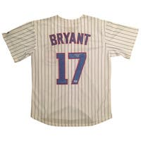 Kris Bryant Autographed Cubs Signed Baseball Jersey PSA DNA COA