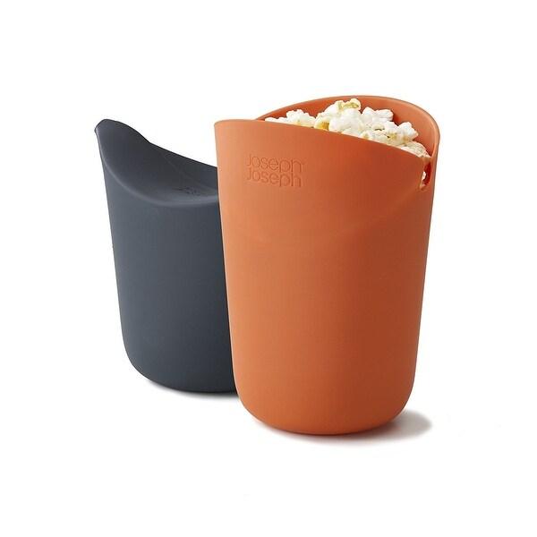 Joseph M Cuisine Microwave Popcorn Popper Maker Single Serve Portion Silicone Food Safe