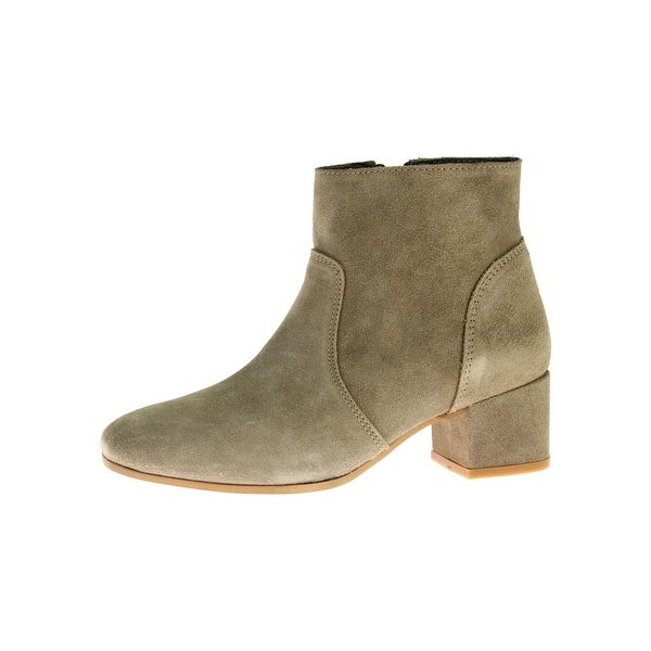 Steve Madden Womens Hydie Booties Suede Covered